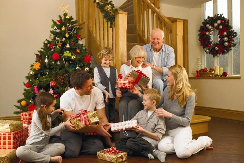 Как моя семья отмечает новый год и рождество
