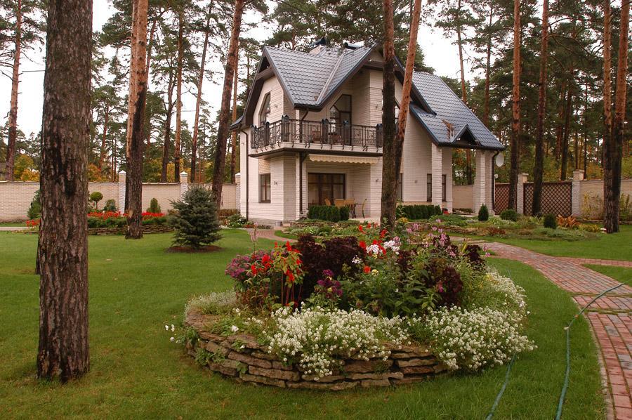 Фото красивых домов подмосковья